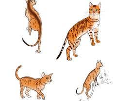 #27 for Digital Artist for Multi-Book Deal - must be able to draw realistic, elegant cats (& other animals) af Kjoller