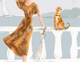 #48 для Digital Artist for Multi-Book Deal - must be able to draw realistic, elegant cats (& other animals) от Anatiproject