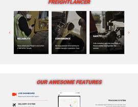 Nro 24 kilpailuun Design Freightlancer.com home pages käyttäjältä hmjuel78
