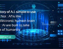 #77 cho Web banner full screen about Artificial Intelligence bởi OKPdesigner