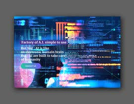 #97 cho Web banner full screen about Artificial Intelligence bởi designmenia
