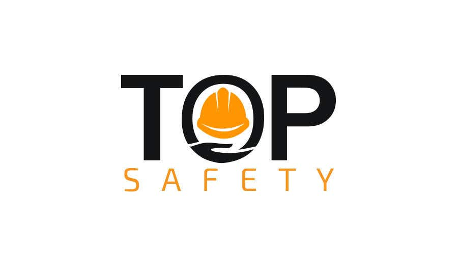 """Contest Entry #                                        28                                      for                                         I need a logo designed for my new business.  """"Top safety"""" the logo should look like a safety/ personal protection wear company using colours like red yellow black deep blue etc. please be creative"""