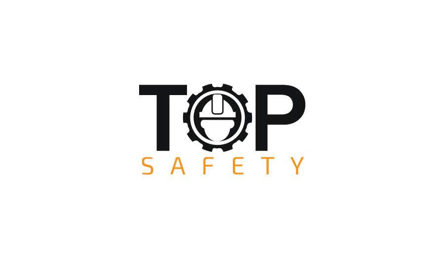 """Contest Entry #                                        42                                      for                                         I need a logo designed for my new business.  """"Top safety"""" the logo should look like a safety/ personal protection wear company using colours like red yellow black deep blue etc. please be creative"""