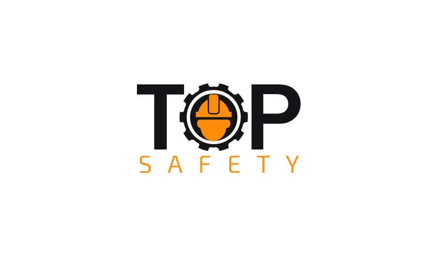 """Contest Entry #                                        43                                      for                                         I need a logo designed for my new business.  """"Top safety"""" the logo should look like a safety/ personal protection wear company using colours like red yellow black deep blue etc. please be creative"""