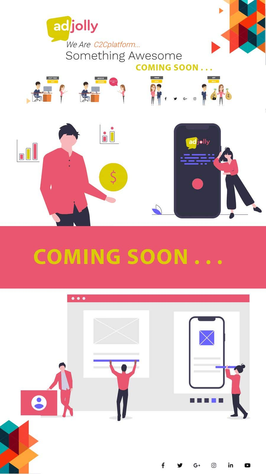 Contest Entry #                                        44                                      for                                         interactive landing(comingsoon) page