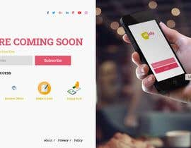 #38 for interactive landing(comingsoon) page by designfolk15