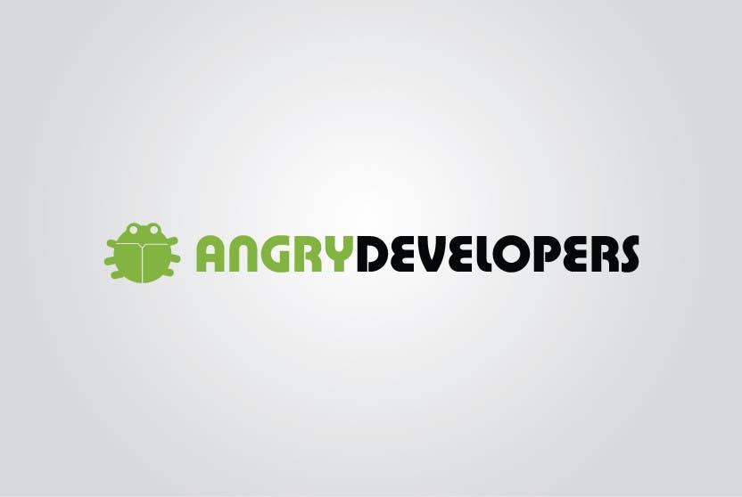 Inscrição nº                                         57                                      do Concurso para                                         Logo Design for Angry Developers
