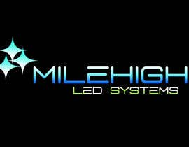 #40 cho Logo Design for Mile High LED Systems bởi andrewdigger
