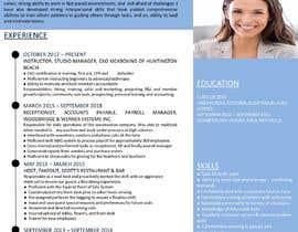 #226 untuk Professional resume design oleh knowledgepoka
