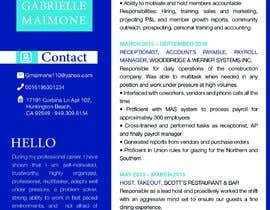 #228 untuk Professional resume design oleh owdaart