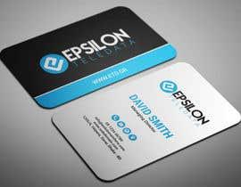 #88 dla Business Card Design przez smartghart
