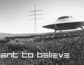 "#26 untuk T-shirt Design for ""I Want To Believe"" UFO shirt. oleh kittikann"