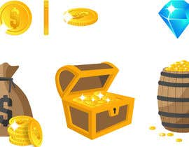 #3 dla Create several Vector icons for Mobile games przez exerrk
