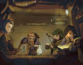 #31 dla Draw an image of D&D Characters in a tavern przez yagizerturk