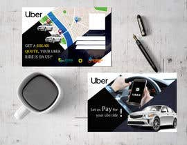 "#17 dla Postcard for ""Let Us Pay for Your Uber Ride"" przez HIMU2"
