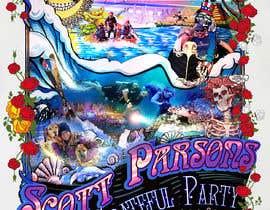 #74 for Scott Parsons Grateful Party by dorotasosnowka
