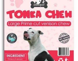 #12 dla Dog Treat Label ; Tonka Chew przez satishandsurabhi
