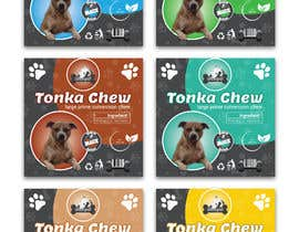 #13 dla Dog Treat Label ; Tonka Chew przez salmagd1999