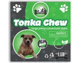 #18 dla Dog Treat Label ; Tonka Chew przez salmagd1999