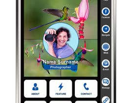 #29 dla 5 Template for Digital Business Card przez dipankar1811987