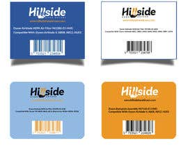 #24 dla Design us product labels with logo text and barcodes. przez ummulsayeda