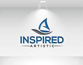 #72 dla Inspired  artistic logo przez kishanalif