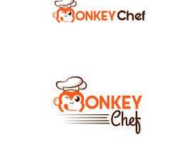 #127 dla Logo design / Diseño de logo    Monkey Chef przez presti81