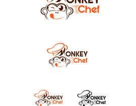 #164 dla Logo design / Diseño de logo    Monkey Chef przez presti81