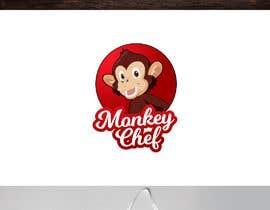 #167 dla Logo design / Diseño de logo    Monkey Chef przez kenitg