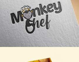 #135 dla Logo design / Diseño de logo    Monkey Chef przez poolanco1