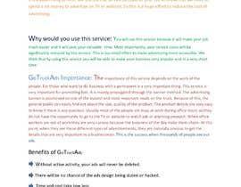#8 dla Blog post for a website organic search przez Kafait79