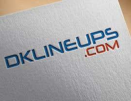 #3 dla need logo made for DKLINEUPS.COM przez sazedurrahman02