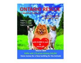 #81 dla Create a Raffle Banner for Animal Rescue przez buli777