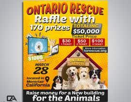 #84 dla Create a Raffle Banner for Animal Rescue przez creative24art