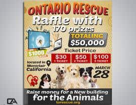 #86 dla Create a Raffle Banner for Animal Rescue przez creative24art
