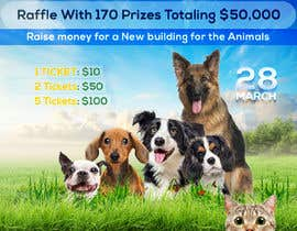 #102 dla Create a Raffle Banner for Animal Rescue przez VERISPARK0INC