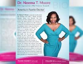 #201 dla Create a Design for Dr.Neema Moore Media Kit przez UniqueDesign36