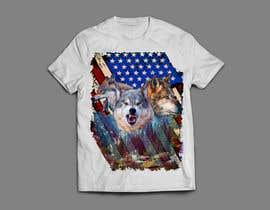 #130 dla Professional Wolf Shirt Design (Photoshop) przez arafatrahman913