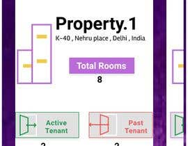 #8 para UI UX design for Paying Guest Tenant Management App de rahulsketcher