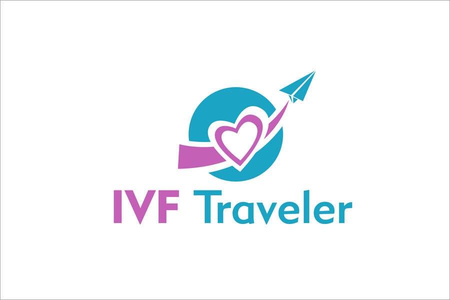 Kilpailutyö #2 kilpailussa Logo Design for IVF Traveler