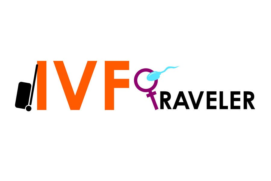 Kilpailutyö #26 kilpailussa Logo Design for IVF Traveler