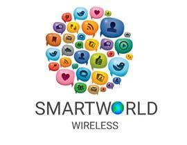 #17 para I want a new logo for my company. My company name is Smart World Wireless.  New ideas and concepts that stand out.  I have a few images that i want ideas considered and incorporated.  Example like the picture of the world made of app icons of course a lit de DeepakAgrawall