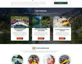 #28 para HOME PAGE REDESIGN - Canoe/safari/rafting on river website de Shouryac
