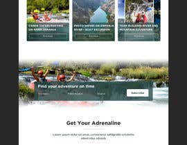 #11 para HOME PAGE REDESIGN - Canoe/safari/rafting on river website de amitithape123