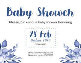 #1 dla Create a baby shower event invite for facebook przez cnbrito