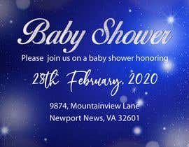 #37 dla Create a baby shower event invite for facebook przez rbcrazy
