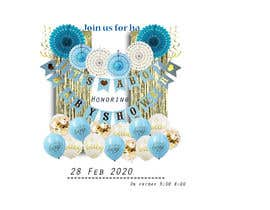 #9 dla Create a baby shower event invite for facebook przez abdulbasit030322