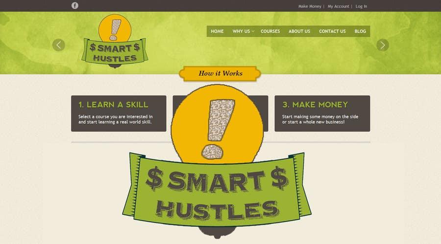 Inscrição nº                                         27                                      do Concurso para                                         Logo Design for SmartHustles.com