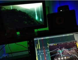 #44 para Add sound  ------  Film scene --------  Forest Sci-fi Scene de Marcodief