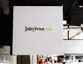 #557 para Logo design for www.24hprint.ma de saedmahmud83